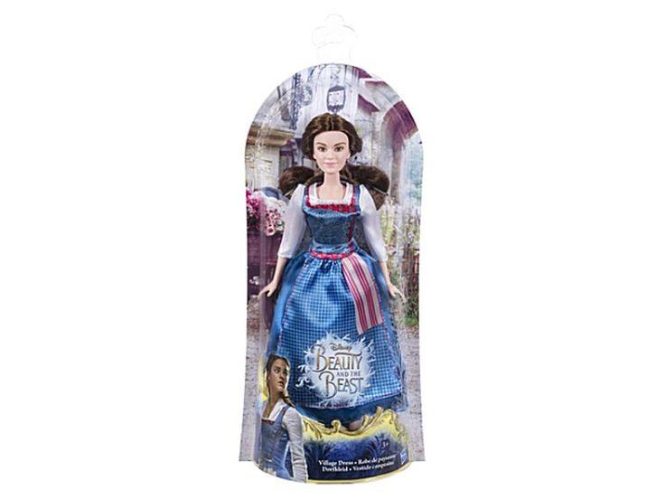 DISNEY PRINCESS Belle village dress fashion doll