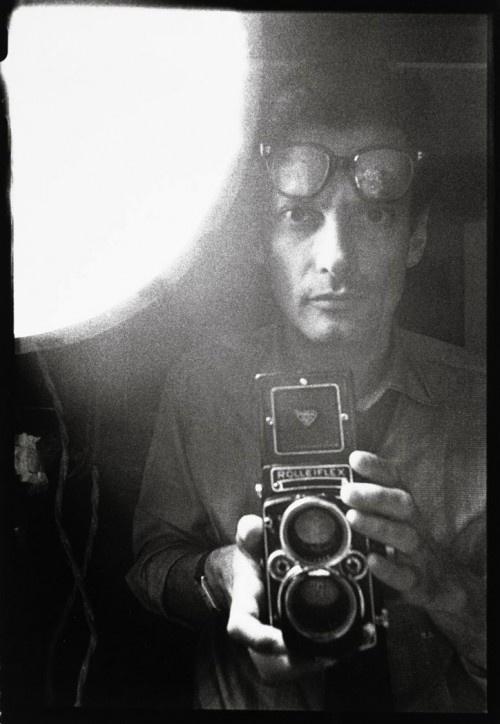 Avedon. Self-portrait.