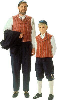 National men's costume, Häme, Finland