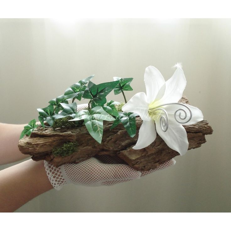 Naturel et raffin ce porte alliance sera id al pour un mariage au th me elfique et nature - Initiatives fleurs et nature ...