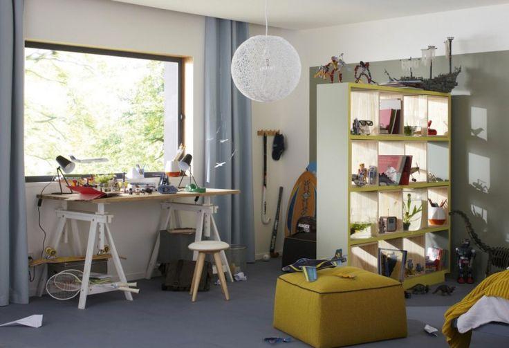 37 idées déco de tréteaux pour créer une table ou un bureau
