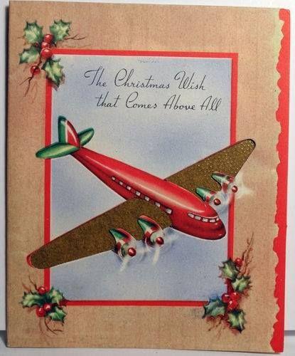 66 best Vintage Christmas Cards: Twenties - Forties images on ...