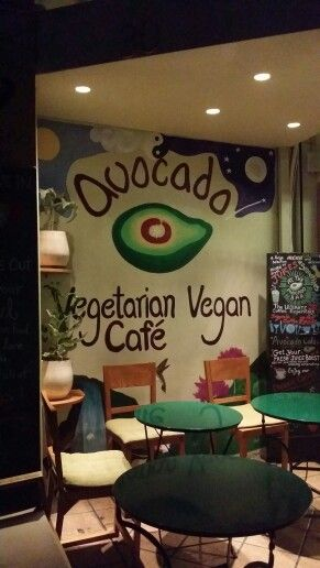 Vegeterian bar + cafe