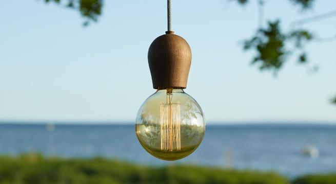 Nordic Tales - wooden lightbulbs