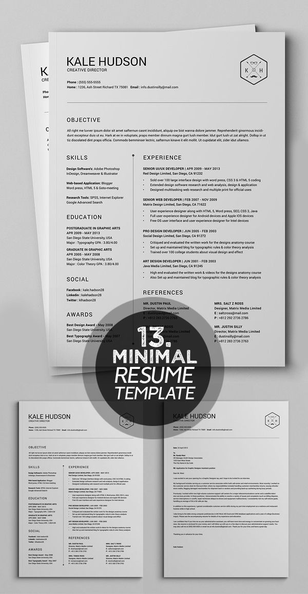 32 best Cv images on Pinterest | Resume templates, Curriculum and Resume