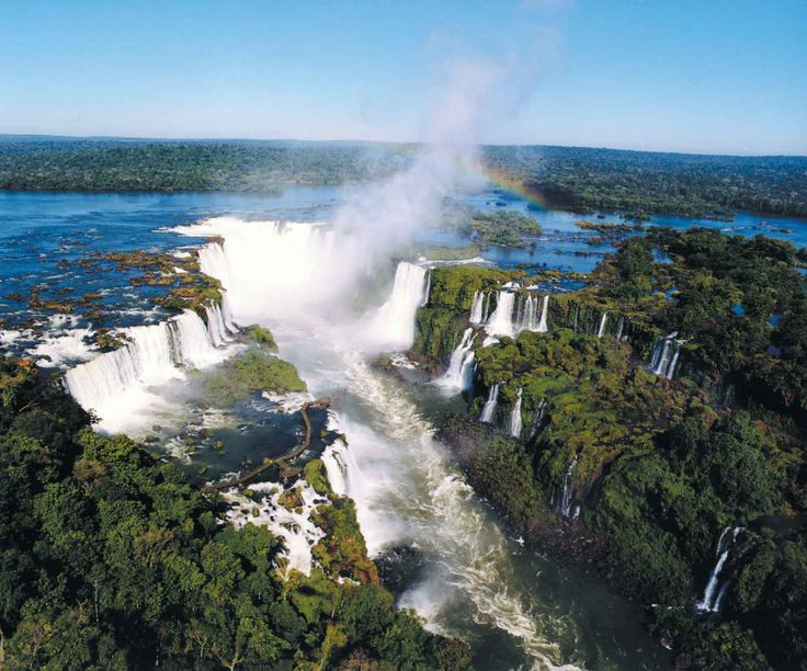 Iguazu Falls Argentina Brazil Photos Wallpaper