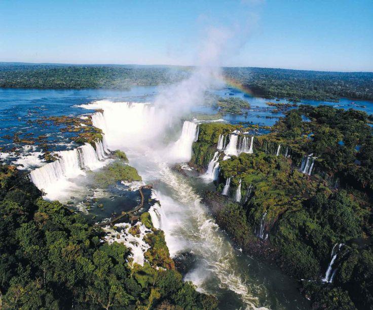 Iguazu Falls Argentina Brazil Photos Wallpaper