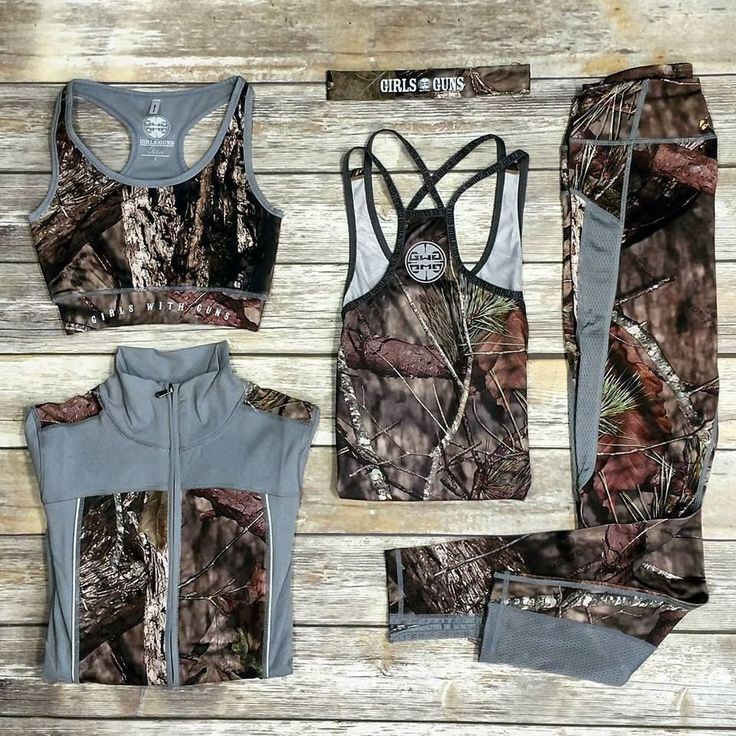 The Girls With Guns Mossy Oak Athletic Apparel is perfect for taking your workout to the next level.