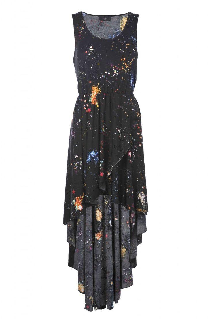 Galaxy Prom Dress | Space Dress Ideas | Prom dresses ...