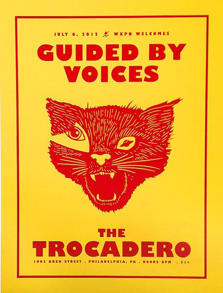 Guided By Voices - gig poster