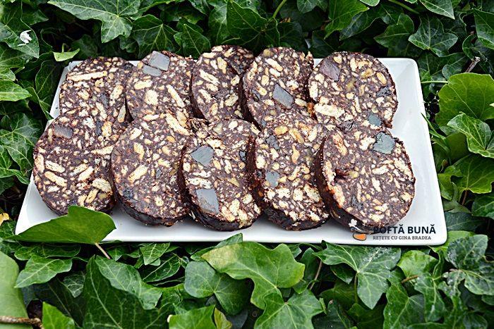 Salam de biscuiti, reteta veche pas cu pas #reteteleGinei #poftabunacuGinaBradea #retete #reteteculinare