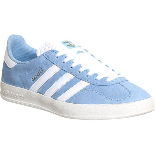 Adidas Gazelle Indoor Clear Blue White Suede Exclusive - His trainers