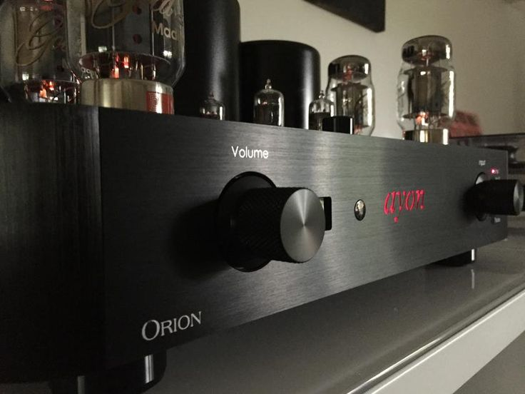 Ayon Audio Orion III Ayon Tube Integrated Amplifier - C...