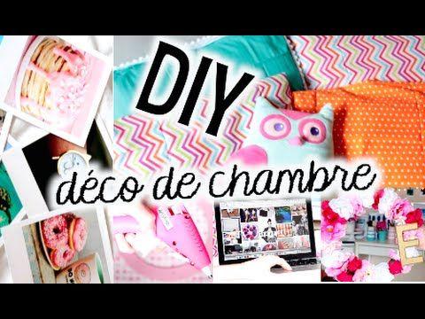 DIY DÉCORATION DE CHAMBRE! CUTE + FACILE!! | Emma Verde - YouTube