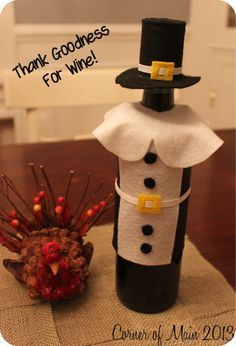 Wine Bottle Covers on Pinterest | Empty Wine Bottles, Knitted Tea ...