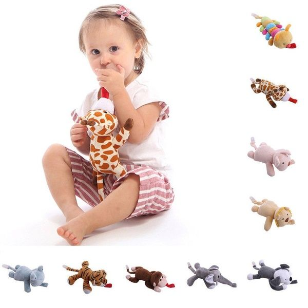 Pacifier Clip Fun Plush Animal Toy Soother Nipple Holder For Kid Baby Boy Girl U