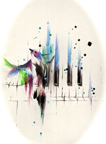 Song Bird  by:-Neonrocketeers
