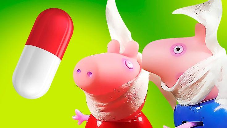 Свинка Пеппа Доктор Зубная боль и джордж отравился мультики все серии по...