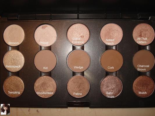 MAC Eyeshadow Palette in Brown/ Neautral | LUUUX