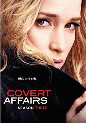 Covert Affairs - Season 3 #CovertAffairsSweepsEntry