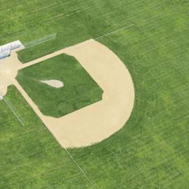 A baseball field requires a lot of outdoor space.
