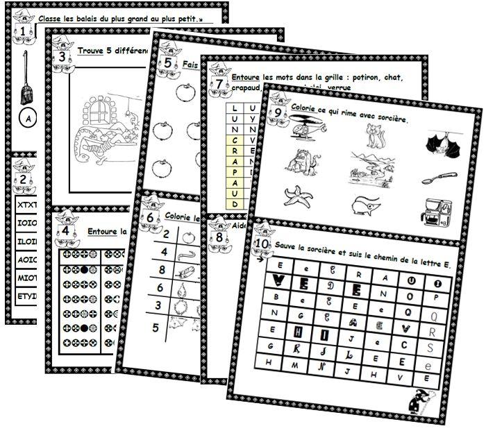 défis, autonomie, cp, numération, lecture, DV, DA, dixmois