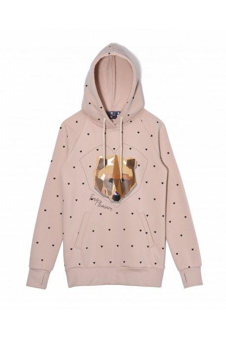 Femi Pleasure sweatshirt YOGI light pink