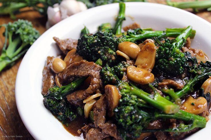 Cheftaíco - Receitas - Carne com brócolis a moda chinesa