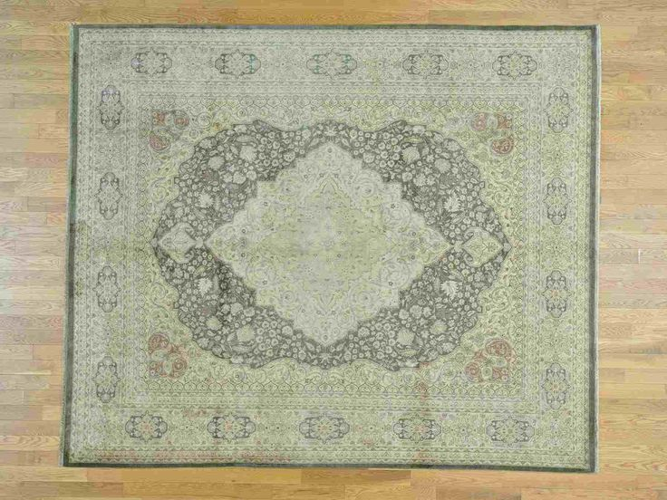 Vintage Fine Wool Haji Jalili In Color Taupe Size 8 2 X 9