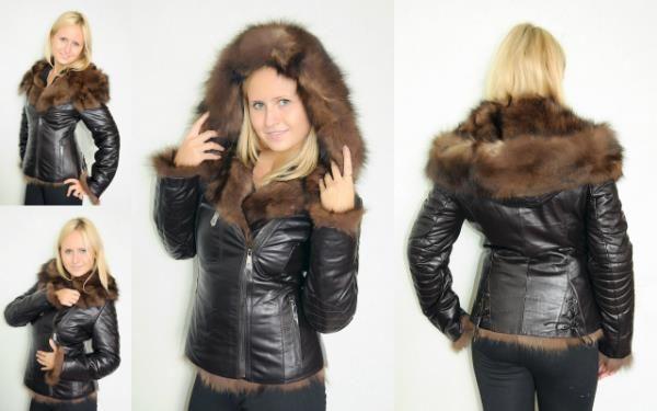 Зимняя куртка женская с мехом купить