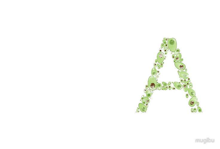 A for Avocado Freshness #avocado #redbubble #travel #traveldairy