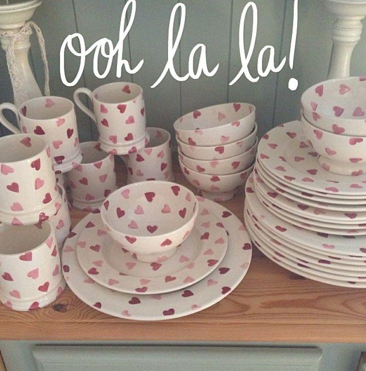 Emma Bridgewater Pink Hearts