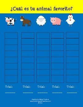 Spanish Language Activities: Animals - enchantedlearning.com
