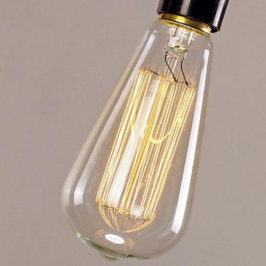 [Newyearsale] 40w минималистский подвесной светильник с черным проводом соткан цепи и пластика светло-держатель 2016 – p.919,47