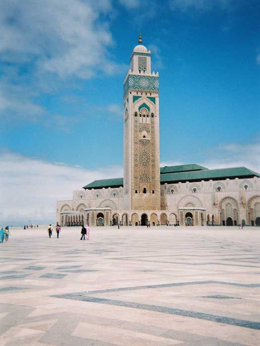 Hassan II Mosque, Casablanca, Morocco #CheapflightsGG