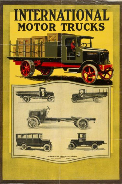 1924 International Truck Ad