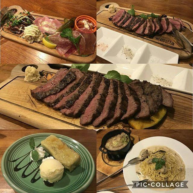 お肉♡ #肉 #大好き #ランプ #ザブトン #山形牛 #肉バル #千葉 #女子会 #食べ過ぎ #beef #love #おいしい😋
