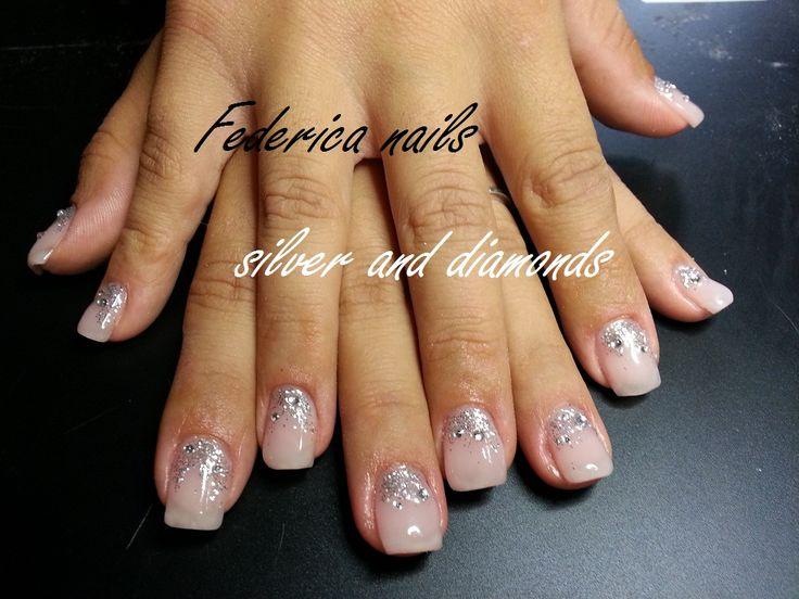 mix glitter silver