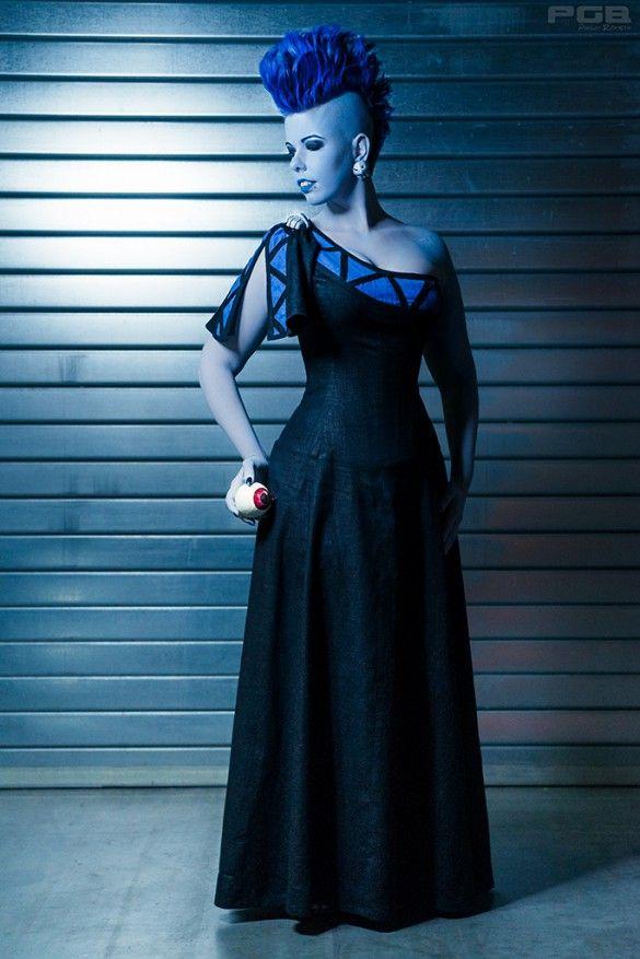 Cosplay: Disney Hades (Genderbend) Model, Styling and Visa: Linny l'a Vanté. 2015; Photo: Phillostar
