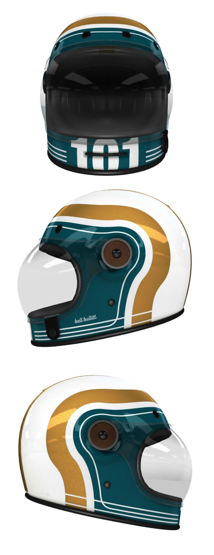 Custom Bell Bullitt Motorcycle Helmet Design at Helmade
