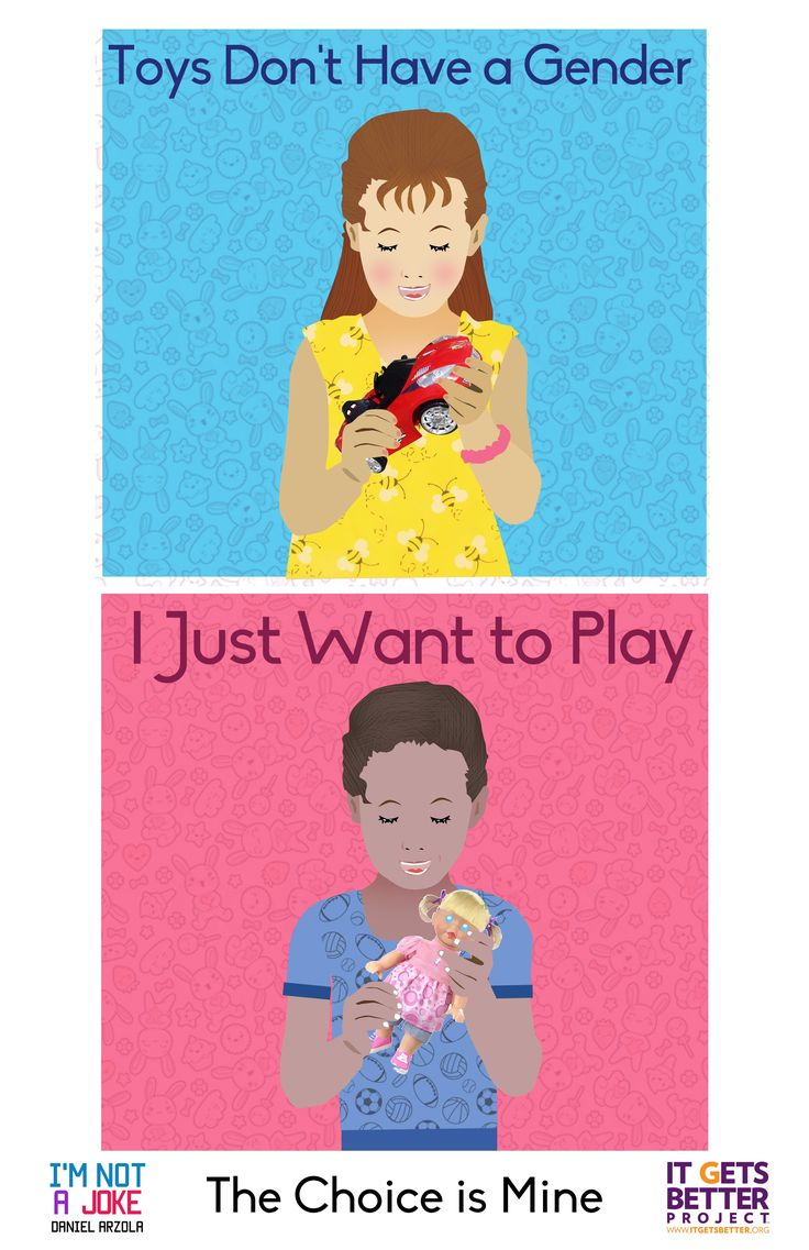 Quit forcing gender segregation on children's toys!