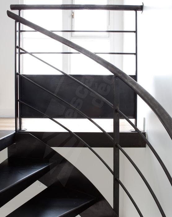 Les 50 meilleures images du tableau escaliers sur - Escalier colimacon prefabrique ...