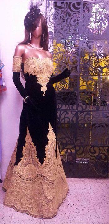 Algerian Fashion: modern take on Qatifa dress