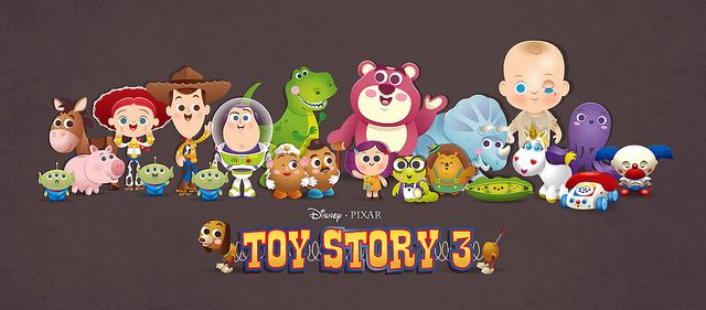Kawaii style Toy Story 3