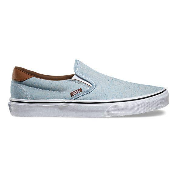 Vans Classic Slipon Classics Italia Weave BLUE TG. 45