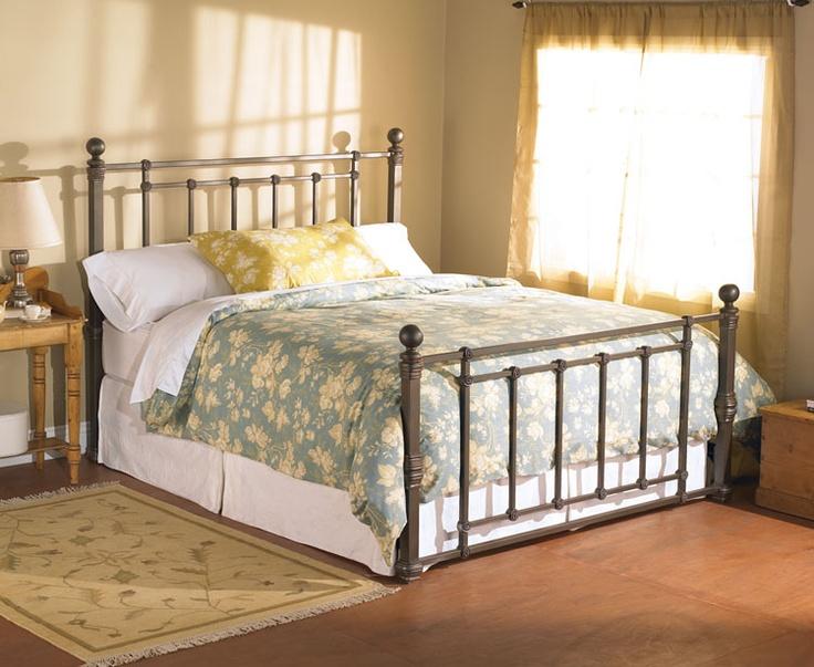 Iron Bed Frames King: 61 Best Wesley Allen Beds Images On Pinterest