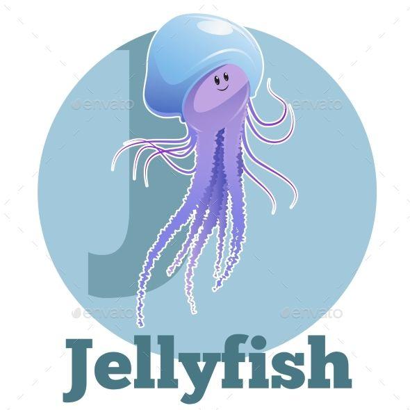 ABC Cartoon Jellyfish 2