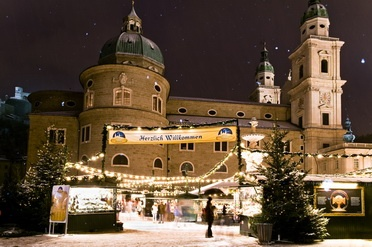 This is a picture of Salzburg Christmas Market #christmas #xmas #christmasmarkets #winter #decoration