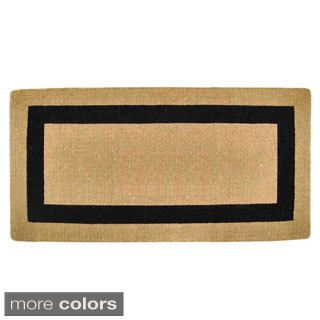 Shop for Heavy Duty Coir Single Picture Frame Door Mat. Get free delivery at Overstock.com - Your Online Home Decor Shop! Get 5% in rewards with Club O! - 15924516