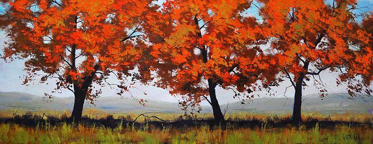 landscape trees by artsaus.deviantart.com on @deviantART